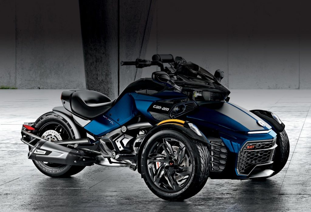 Mengenal Motor Roda Tiga Can Am Spyder Brp Blog Indonesia