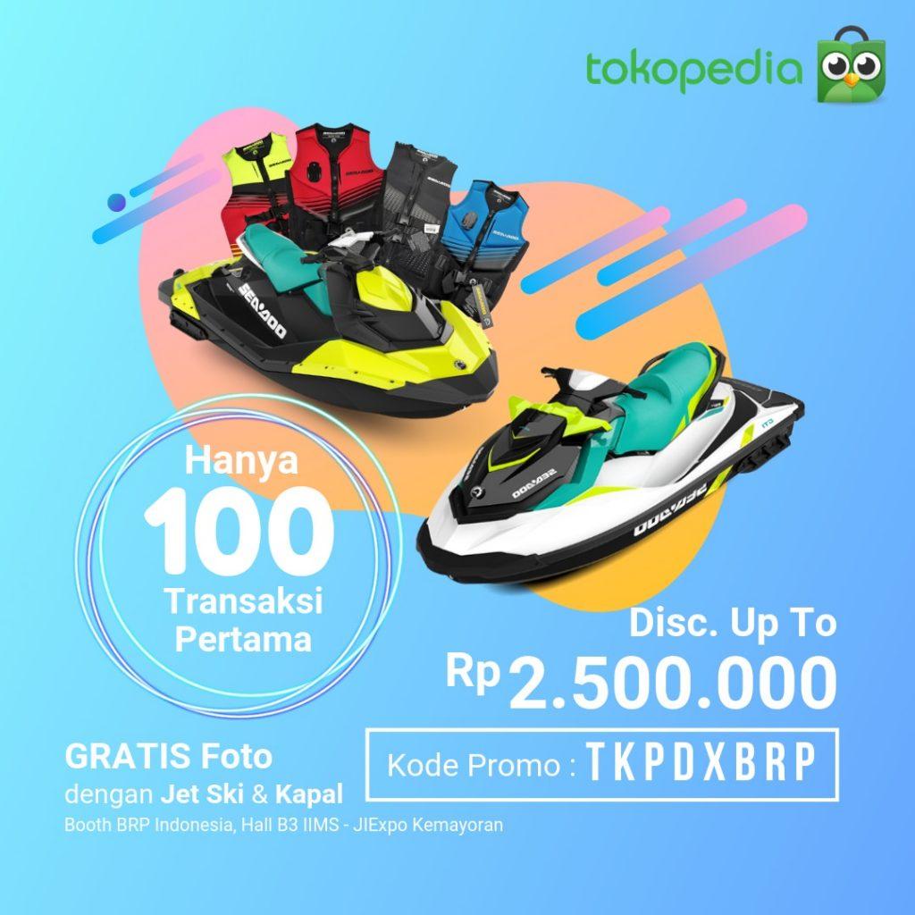Promo Sea-Doo Indonesia Tokopedia