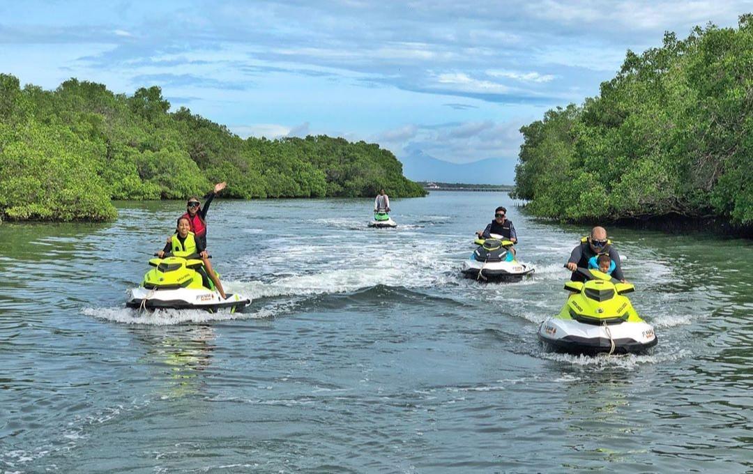Self Ride Jet Ski Safari Bali Wibisana | BRP Blog Indonesia