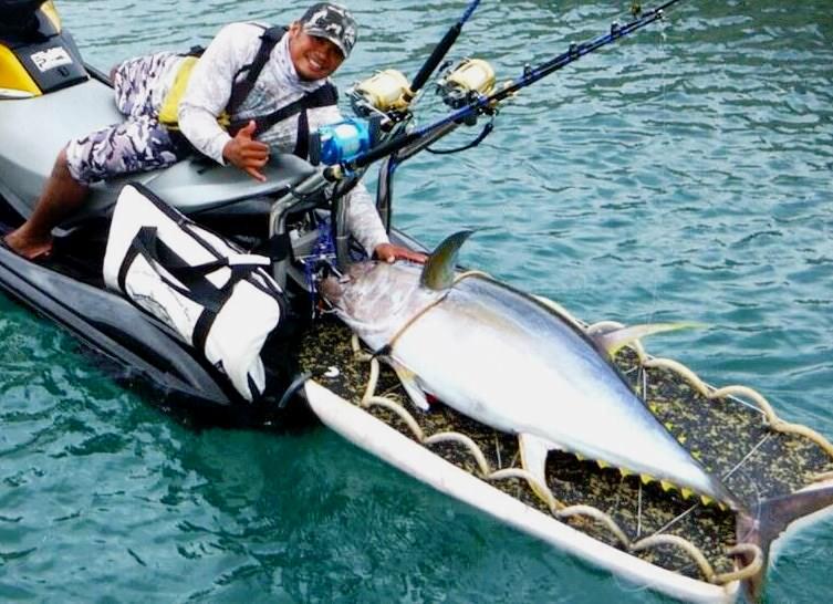 Personal Watercraft Rescue Board Fish