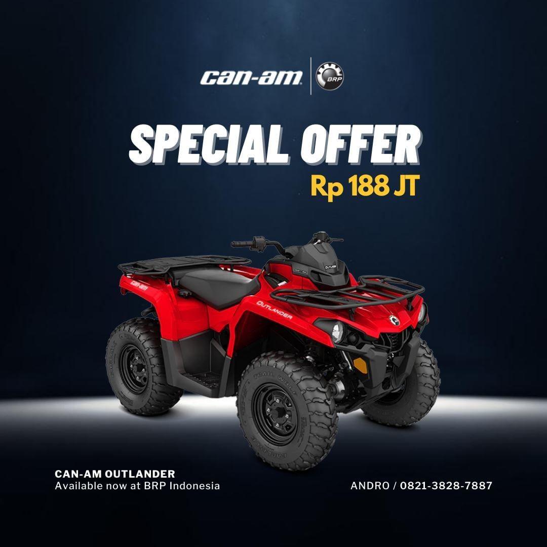 Harga ATV 2020 Canam Offroad
