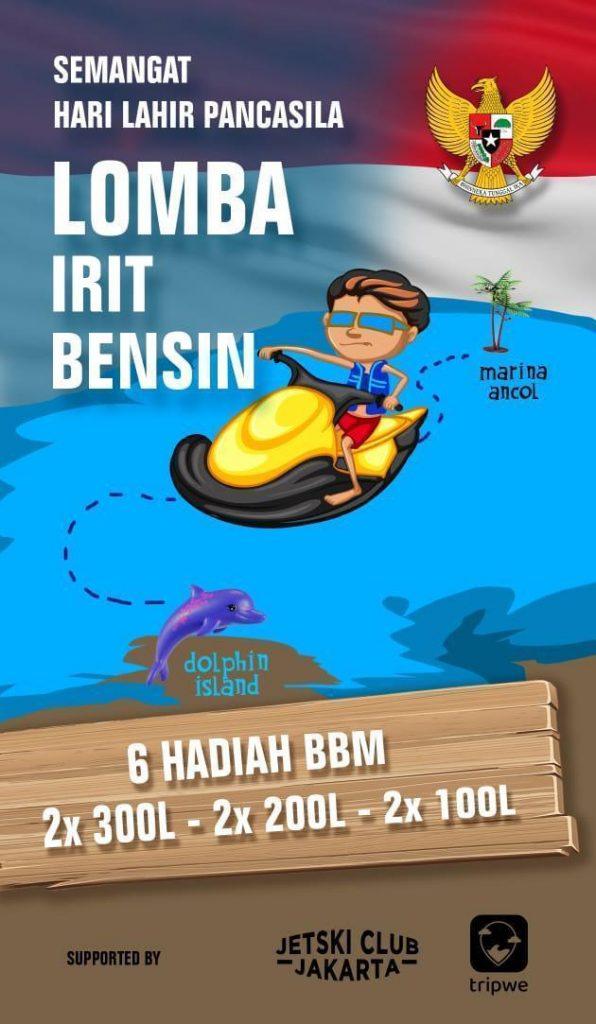 Lomba Irit Bensin Jetski Jakarta