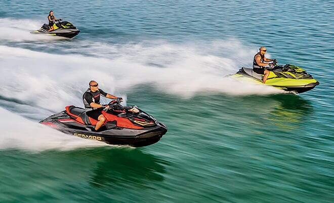 Variable Trim System (VTS) Jetski