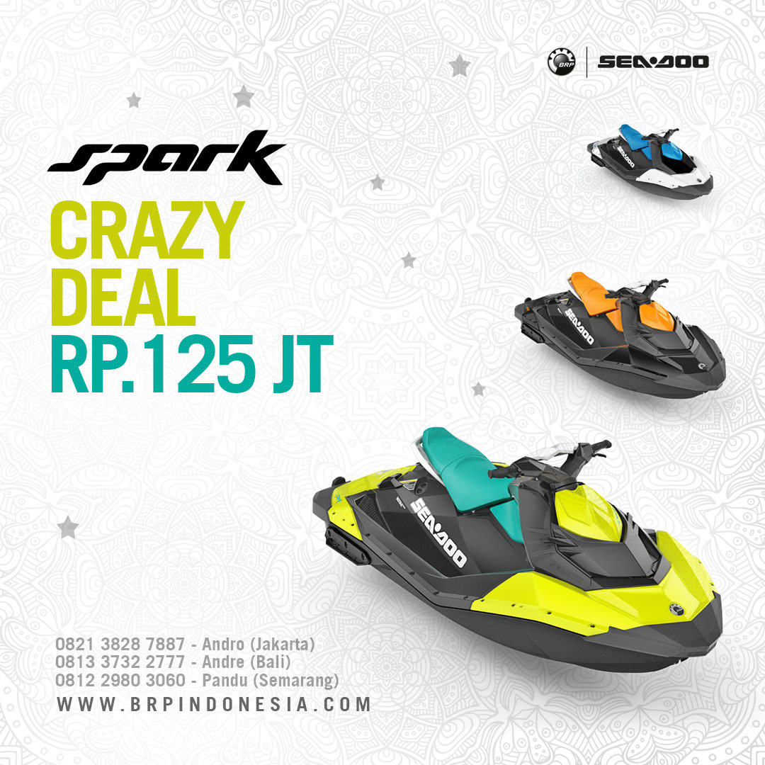 Seadoo Spark Limited Offer Jetski
