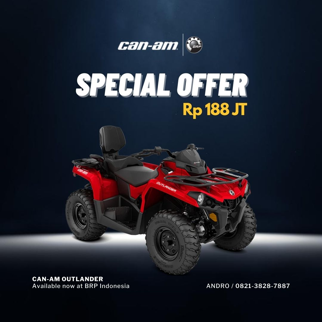 Can-Am Outlander 188 Juta
