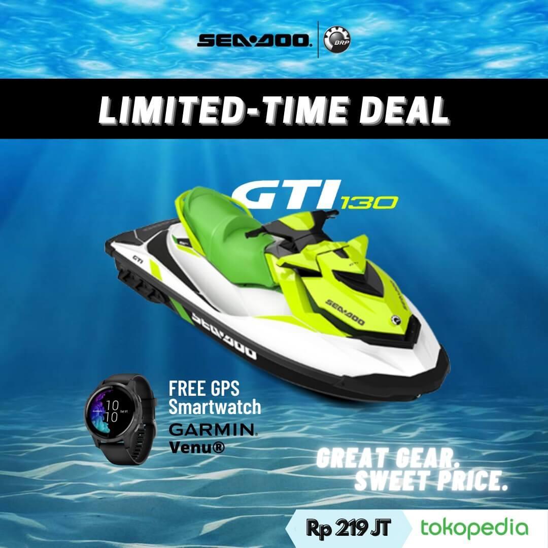 Beli Sea-Doo GTI Gratis Jam Garmin